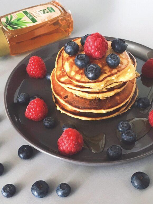placuszki proteinowe pancakes