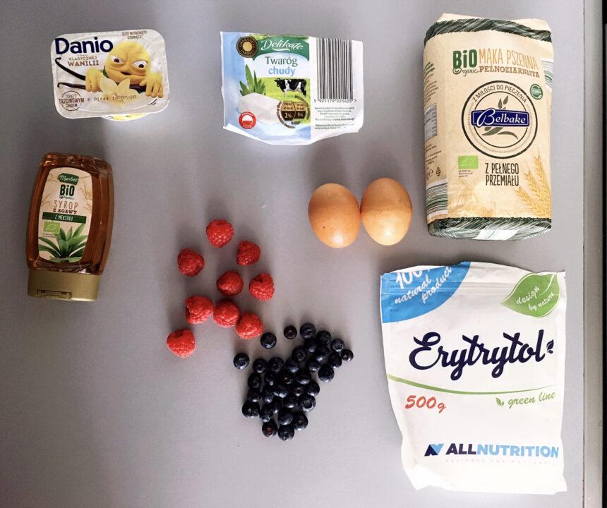proteinowe pancakes przepis