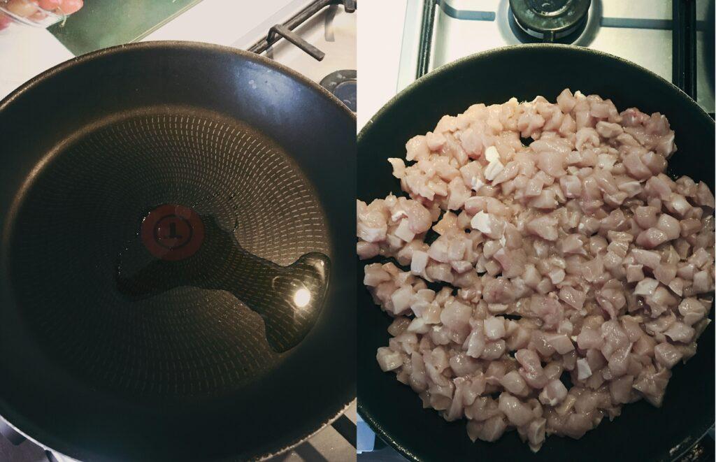 przepis na fit kurczaka curry z ryżem