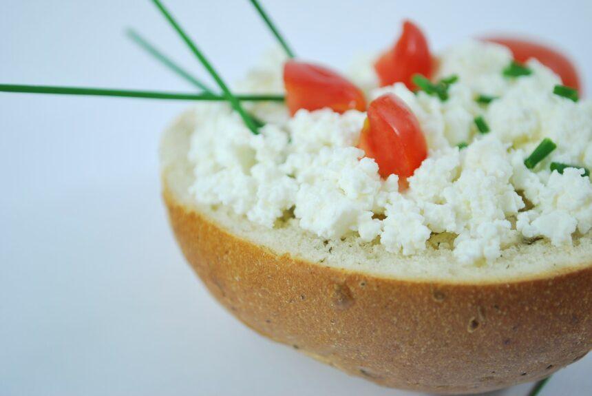 przepis na zdrowe sniadanie twarozek