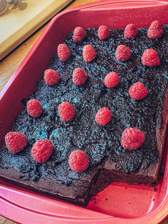 Szybki i prosty przepis na fit brownie z fasoli