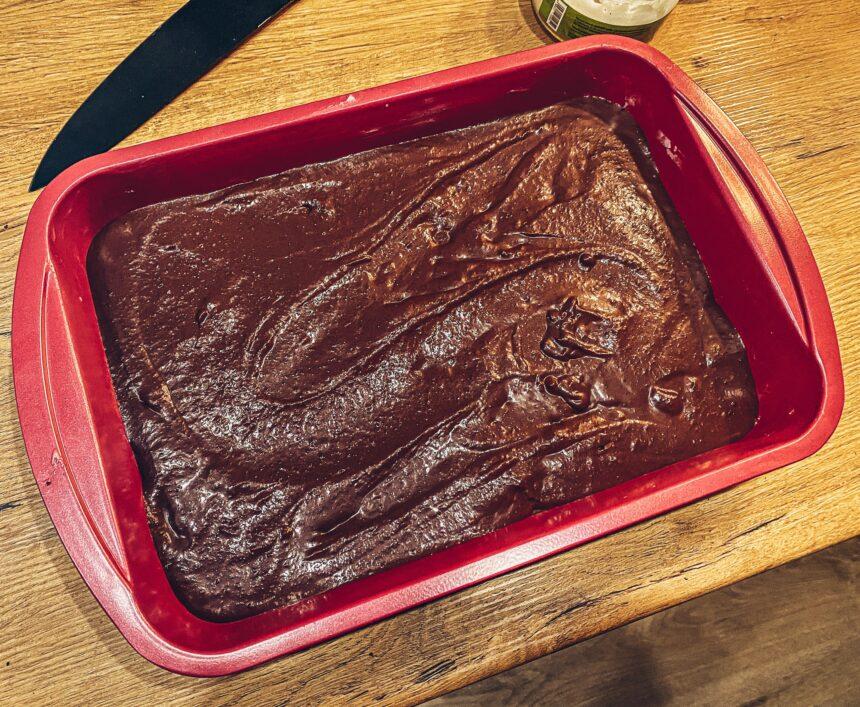 fit brownie z fasoli przepis